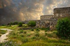 παλαιός τοίχος φρουρίων στοκ φωτογραφία με δικαίωμα ελεύθερης χρήσης