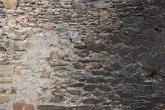 Παλαιός τουβλότοιχος: Σύσταση της εκλεκτής ποιότητας πλινθοδομής - τούβλο πετρών στοκ εικόνα