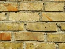 Παλαιός τούβλινος στενός επάνω σύστασης υποβάθρου τοίχων Στοκ φωτογραφίες με δικαίωμα ελεύθερης χρήσης