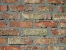Παλαιός τούβλινος στενός επάνω σύστασης υποβάθρου τοίχων Στοκ Φωτογραφία