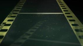 παλαιός τρύγος ανασκόπησ&et Παλαιά αντίστροφη μέτρηση ταινιών, απεικόνιση αποθεμάτων