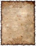 παλαιός τρύγος εγγράφου ανασκόπησης στοκ εικόνες