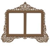 παλαιός τρύγος πλαισίων ορείχαλκου Στοκ εικόνα με δικαίωμα ελεύθερης χρήσης