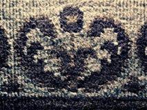 Παλαιός φορεμένος τάπητας λεπτομερώς ύφανση σύστασης στοκ φωτογραφία με δικαίωμα ελεύθερης χρήσης
