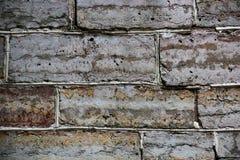 Παλαιός φορεμένος τοίχος των φραγμών πετρών στοκ φωτογραφία με δικαίωμα ελεύθερης χρήσης
