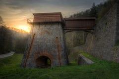 Παλαιός φούρνος φυσήματος κοντά σε Adamov Στοκ φωτογραφίες με δικαίωμα ελεύθερης χρήσης