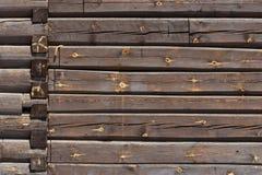 Παλαιός φυσικός ξύλινος shabby στενός επάνω υποβάθρου στοκ εικόνες