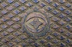 παλαιός χάλυβας Στοκ εικόνες με δικαίωμα ελεύθερης χρήσης