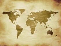 Παλαιός χάρτης ελεύθερη απεικόνιση δικαιώματος