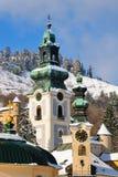 παλαιός χειμώνας κάστρων Στοκ Εικόνα