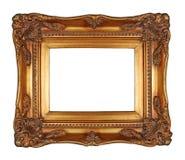 παλαιός χρυσός πλαισίων Στοκ εικόνα με δικαίωμα ελεύθερης χρήσης