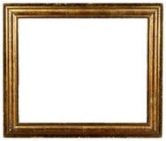 παλαιός χρυσός shabby τρύγος πλαισίων Στοκ Φωτογραφία