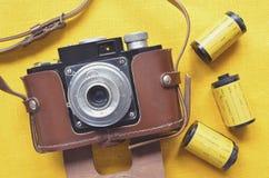 παλαιός χρόνος φωτογραφίας Στοκ φωτογραφίες με δικαίωμα ελεύθερης χρήσης