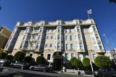 Παλαιότερο λειτουργούν ξενοδοχείο του Σαν Φρανσίσκο ` s, ξενοδοχείο μεγαλοπρεπές στοκ φωτογραφία