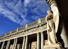 Παλαιό άγαλμα του αγγέλου μέσα στο μνημειακό νεκροταφείο του Di Μπολόνια Certosa Στοκ Φωτογραφίες
