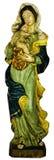 παλαιό άγαλμα Χριστού Mary Στοκ φωτογραφία με δικαίωμα ελεύθερης χρήσης