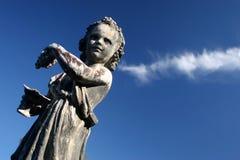 παλαιό άγαλμα Στοκ εικόνα με δικαίωμα ελεύθερης χρήσης