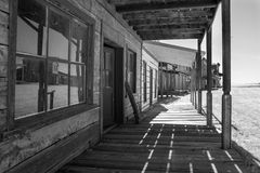 Παλαιό άγριο σκηνικό κινηματογράφου δυτικών πόλεων στην Αριζόνα Στοκ Φωτογραφία