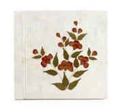 Παλαιό άσπρο βιβλίο εγγράφου μουριών Στοκ εικόνες με δικαίωμα ελεύθερης χρήσης