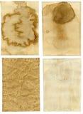 παλαιό έγγραφο ανασκοπήσ& στοκ φωτογραφία με δικαίωμα ελεύθερης χρήσης