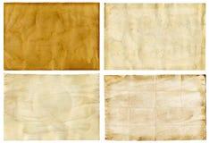 παλαιό έγγραφο ανασκοπήσ& Στοκ Εικόνα