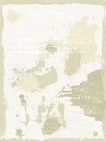 παλαιό έγγραφο ανασκοπήσ& Στοκ φωτογραφίες με δικαίωμα ελεύθερης χρήσης