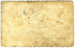 παλαιό έγγραφο ανασκόπησης Στοκ Φωτογραφία