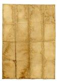παλαιό έγγραφο ανασκόπηση στοκ φωτογραφία