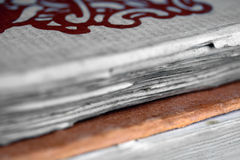 παλαιό έγγραφο βιβλίων στοκ φωτογραφία