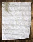 Παλαιό έγγραφο για το παλαιό δάσος Στοκ φωτογραφία με δικαίωμα ελεύθερης χρήσης