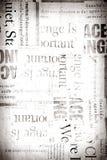 παλαιό έγγραφο ειδήσεων Στοκ Εικόνα