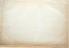παλαιό έγγραφο κατασκευασμένο Στοκ Φωτογραφία
