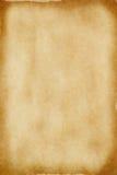 Παλαιό έγγραφο περγαμηνής Στοκ Εικόνες