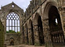 Παλαιό αβαείο Holyrood αιώνων στοκ φωτογραφίες με δικαίωμα ελεύθερης χρήσης