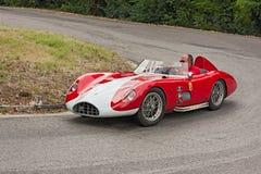 Παλαιό αγωνιστικό αυτοκίνητο Bandini 750 αθλητισμός Στοκ Εικόνες