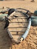 Παλαιό αλιευτικό σκάφος. Στοκ εικόνα με δικαίωμα ελεύθερης χρήσης
