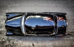 Παλαιό αμερικανικό παλαιό αυτοκίνητο που βλέπει άνωθεν στοκ εικόνα