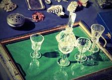 Παλαιό αντικείμενο για την πώληση παζαριών με την εκλεκτής ποιότητας επίδραση στοκ φωτογραφία με δικαίωμα ελεύθερης χρήσης