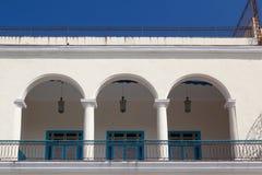 Παλαιό αποικιακό κτήριο στην πλατεία Plaza Vieja, Αβάνα, Κούβα Στοκ εικόνα με δικαίωμα ελεύθερης χρήσης