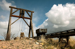 παλαιό ασήμι ορυχείων στοκ εικόνα με δικαίωμα ελεύθερης χρήσης