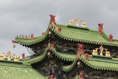 παλαιό ασιατικό παλάτι στοκ εικόνες