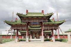 παλαιό ασιατικό παλάτι στοκ εικόνα
