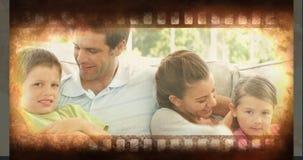 Παλαιό βίντεο ταινιών κινηματογράφων φιλμ μικρού μήκους