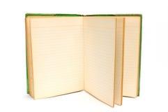 Παλαιό βιβλίο ανοικτό Στοκ Φωτογραφίες