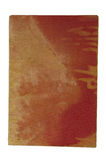 Παλαιό βιβλίο με την κόκκινη κάλυψη λινού Στοκ Φωτογραφίες