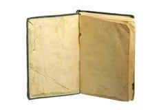 Παλαιό βιβλίο με τις κενές σελίδες Στοκ φωτογραφία με δικαίωμα ελεύθερης χρήσης
