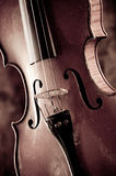 Παλαιό βιολί Στοκ Φωτογραφία