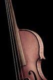 Παλαιό βιολί Στοκ φωτογραφίες με δικαίωμα ελεύθερης χρήσης
