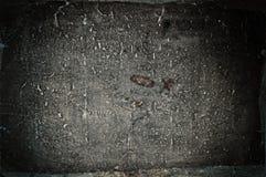 Παλαιό βρώμικο έγγραφο Στοκ Εικόνες