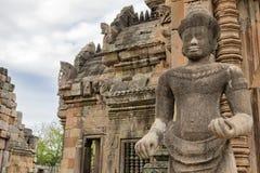 Παλαιό γλυπτό στόκων Το ιστορικό πάρκο βαθμίδων Phanom είναι Καστλ Ροκ παλαιό, εθνικό πάρκο βαθμίδων Phanom μέσα βόρειο-ανατολικά στοκ εικόνα